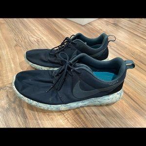Nike Roshe Run 'Marble' QS Dark Obsidian men's 9